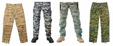 Digital Camouflage BDU Pants Military Army Cargo Fatigue Trousers Bottoms