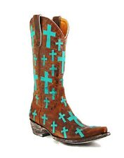 """Women's Old Gringo """"Ooh My God"""" Turquoise Cowboy Western Boots **ON SALE NOW**"""