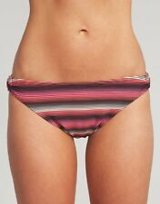 Lepel Isis Classic Bikini Brief Black Pink Multi Stripe VARIOUS SIZES NEW