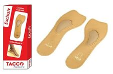 TACCO 621 Exclusiv Orthotic Arch Support Leather Shoe Insoles Inserts Exclusive