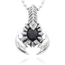 Punk Rock Scorpion King Stainless Steel Pendant Necklace Gift for Men