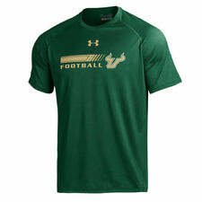 Men's Under Armour Hunter Green South Florida Bulls 2016 On-Field Tech T-Shirt