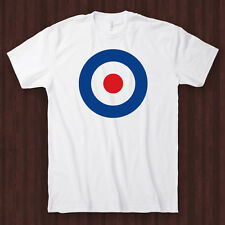 Vintage Classic RAF Decal, The Who, Mod, Vespa Lambretta Scooter T-Shirt - 0205