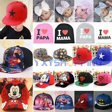 Toddler Baby Kids Girls Boys Hip Hop Snapbacks Sport Baseball Cap Lovely Sun Hat