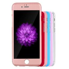 Tempered Glass Film+Full Body Case Cover Skin for iPhone 6/6s Plus 5.5""