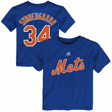 Noah Syndergaard New York Mets Majestic Toddler Name & Number T-Shirt - Royal