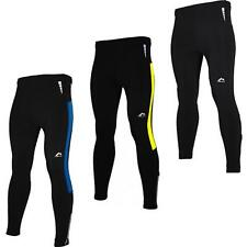 More Mile Montreal Mens Thermal Reflective Running Tights MM1791-3