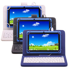 iRULU eXpro 7inch Tablet PC Blue 8GB Google Android 4.4 Pad Quad Core w/Keyboard