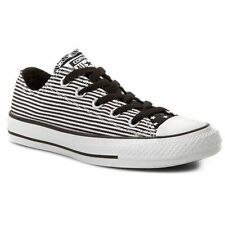 Converse All Star Chuck Taylor Uni 144830f Ox Star & Bars Shoes Low Black/white