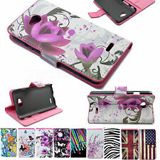 Flip Leather Wallet Holster Phone Case Cover Pouch For LG Optimus Mobile Phones