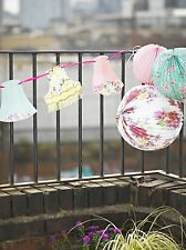 Lampshade Bunting Garland Or Lanterns / Vintage Style Party Wedding Decorations
