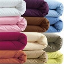 DUVET COVER SET SOLID ALL COLORS & SIZES 1000 THREAD COUNT 100% EGYPTIAN COTTON