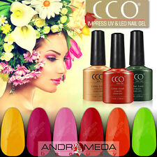 CCO UV LED NAIL GEL POLISH VARNISH SOAK OFF TOP BASE COAT PROFESSIONAL COLOURS