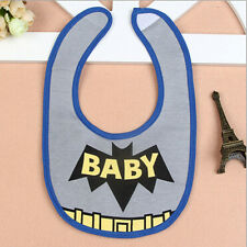 Waterproof  Boys Girls Baby Cotton Cartoon Bibs Saliva Towel Burp Cloth Feeding