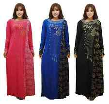 Fashion Muslim Drilling Hot Abaya Abayas Clothing Female Islamic Arab Dress