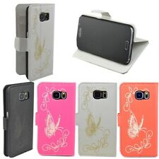 Mobile Phone Walle Flip Leather Pouch Case Cover Skin For Samsung LG Sony Phones