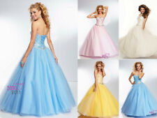 Quinceanera Wedding Bridesmaid Dresses Pageant Formal Party Prom Dress Evening