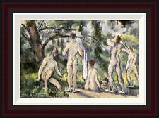 Global Gallery Bathers by Paul Cezanne Framed Painting Print