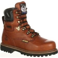 "Mens Georgia 8"" Hammer Internal Metatarsal Steel Toe Work Boot Size 8-13 G8315"