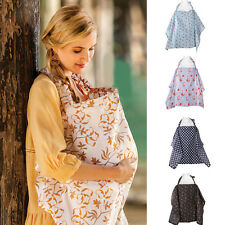 4 Colors Breastfeeding Cover Nursing Covers Blanket Shawl Flower Printed MAD