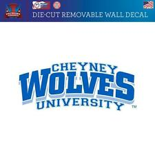 Cheyney University of Pennsylvania Wolves  Removable Wall Decal Logo 2