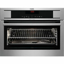 AEG KP8404001M Compact Electric Integrated Built-in Multifunction Oven