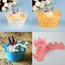 50pcs Cupcake Cases Paper Cake Cup Liners Wrapper Muffin Mug Baking Christmas