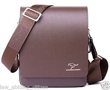 Kangaroo Kingdom Bag Men Leather Crossbody Business Shoulder Messenger Briefcase
