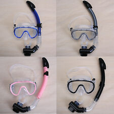 Beach Swimming Mask Snorkel Set Scuba Diving Dive Snorkeling Gear Device 4 Color