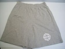 Chicago Fire Department Shorts Cotton Oxford Grey w/ Pockets