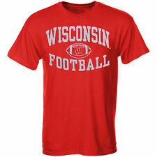 Wisconsin Badgers Football Reversal T-Shirt - Red - College