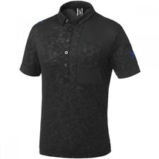 Oakley Golf SKULL TONE BLOCK SHIRT Jet Black 433625JP-01K Japan Model 2016