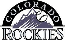 Colorado Rockies cornhole board decal 1 set (2 decals)