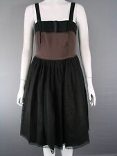 MARIA COCA COLLECTION SLEEVELESS KNEE LENGTH COFFEE (DARK BROWN) DRESS SIZE 6-12