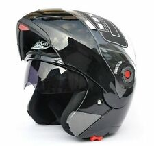 7 Color Full Open Face Motorcycle Helmet Dual Visor Modular Flip Up Sun Shield