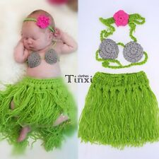 Newborn Boy Girl Baby Crochet Knit Costume Photography Photo Prop Outfit TXCL