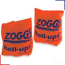 Zoggs Swimming Pool Roll Up Arm Bands Childrens Kids 1-6 or 6-12 Years