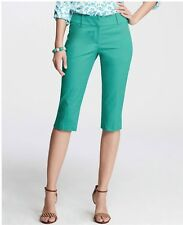 NWT Ann Taylor Green Peddle Pusher Shorts $50  Green Long Bermuda shorts
