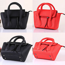 Womens Handbag PU Leather Shoulder Messenger Bag Lady Satchel Tote Shopper Purse