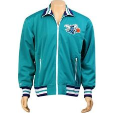 Mitchell And Ness Charlotte Hornets NBA Preseason Warm Up Track Jacket (teal)