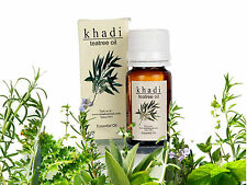 Khadi Pure Natural Tea Tree Essential Oil 15 ml No Resin Bath Skin Body Care