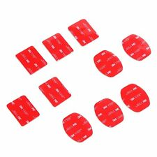 5~100PCS Flat/Curved 3M VHB Sticker Adhesive Pad Mount For GoPro Hero 5 4 3+ 3 2