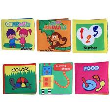 Baby Infant Toddler Kids Intelligence Development Cloth Book Cognize Book Toy