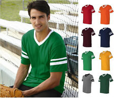 Augusta Sportswear - V-Neck Jersey NEW with Striped Sleeves - 360