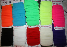 LEG WARMERS, LADIES, 10 COLOURS AVAILABLE