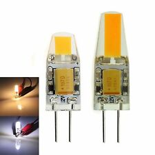 Dimmable 3W 6W G4 COB LED Light  Lamp Bulb AC DC  12V  Warm Neutral Cool White