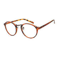 hot Retro Round Eyes Plain Glasses Men/Women Vintage Myopia Eyeglasses Frame