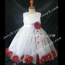 #MFBG7 Baby Girls Christening Communion Birthday Pageant Party Prom Gown Dress