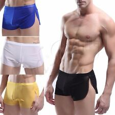 Sexy Men's Swimwear Boxer Shorts Waterproof Swim Trunks Board Shorts Size M L XL