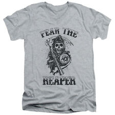 Sons Of Anarchy Fear The Reaper Mens V-Neck Shirt